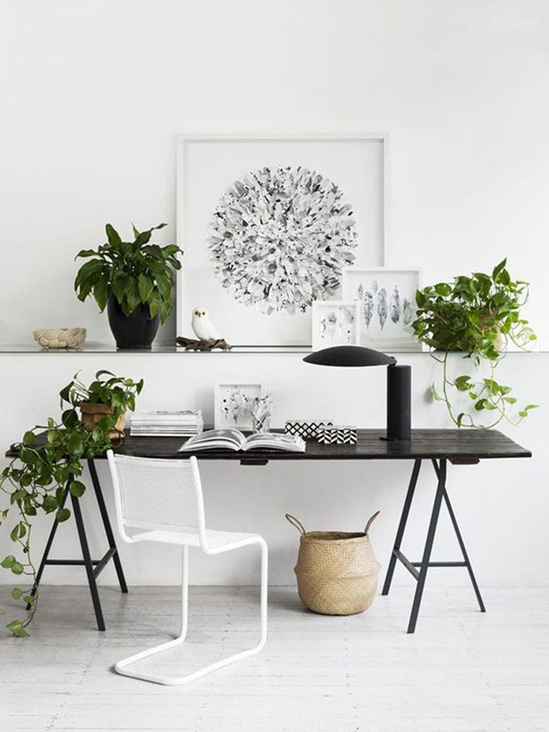scandinavian home office. Scandinavian Minimalist Home Office UK