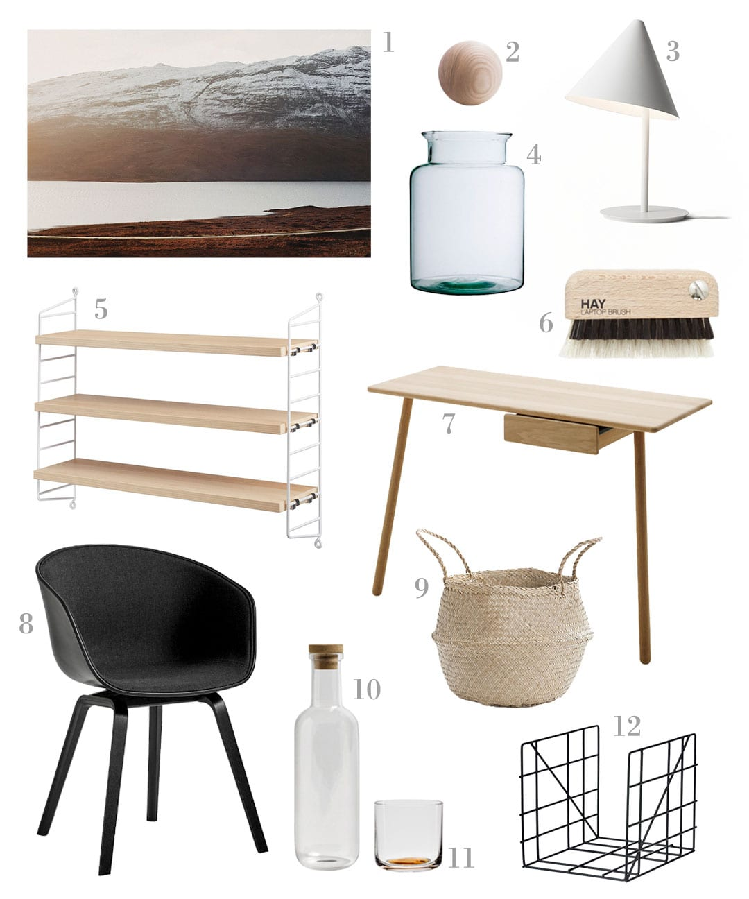 scandinavian home office. Minimalist Home Office Essentials Scandinavian