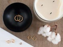 Minimal Gold Hoop Earrings UK