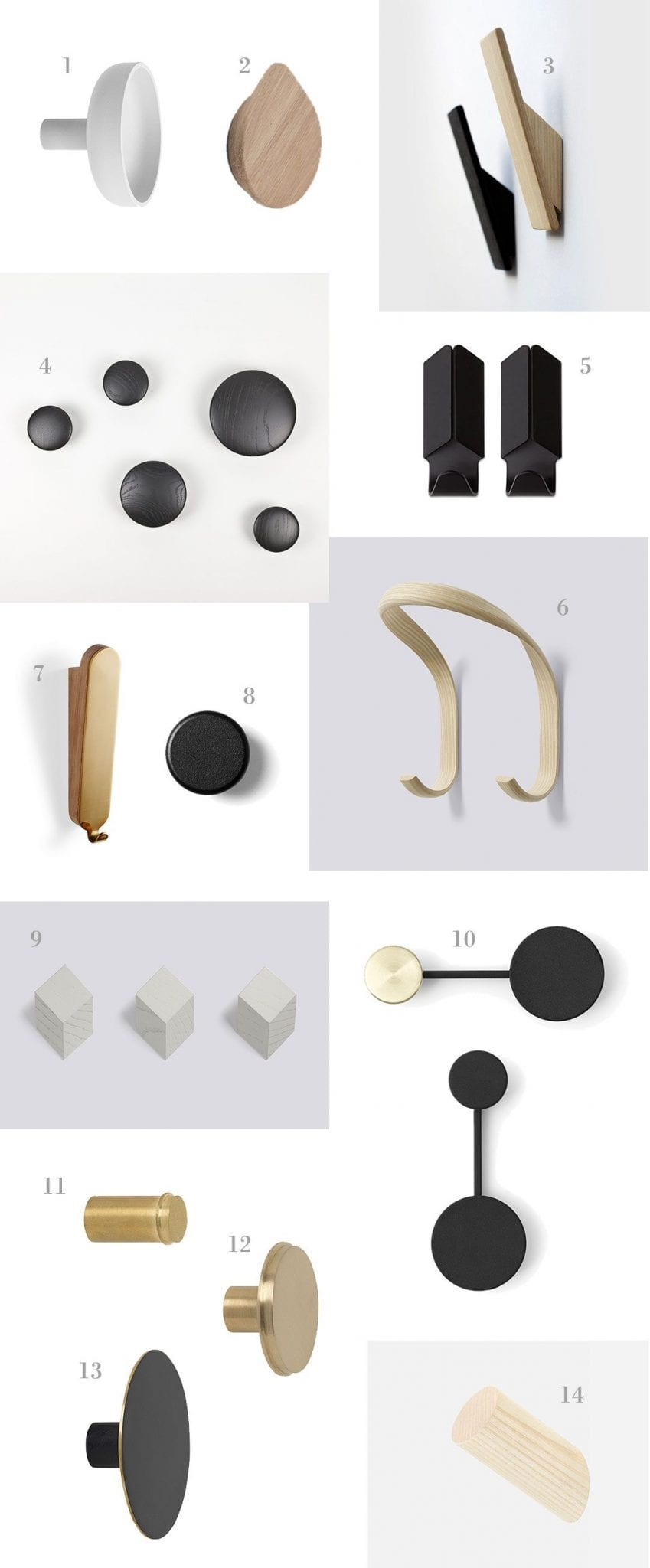 Minimal Hooks For The Home