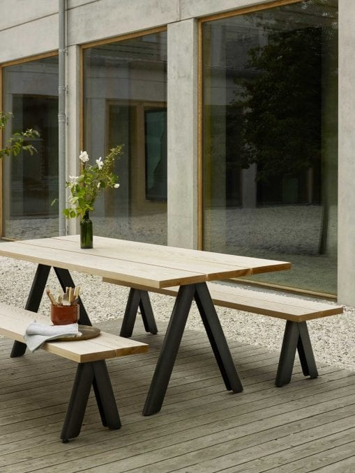 Skagerak Overlap Table & Bench