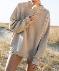 The Knotty Ones Laumes Oversized Merino Sweater