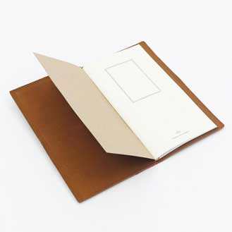 Oggetto TRAVELER'S Notebook - Camel