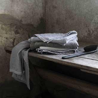 Olea Living Terva Towel Grey
