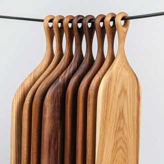 Olea Living Wooden Serving Boards