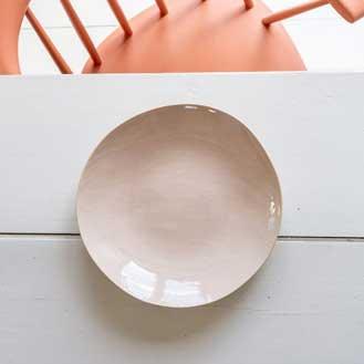 The Small Home Brickett Davda Pasta Plate