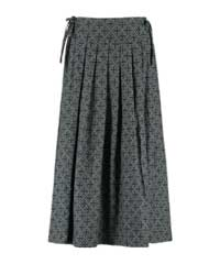 Berjoan Shadow Pleat & Tie Skirt