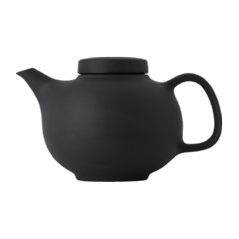 Olio by Barber Osgerby Black Teapot 14cm 1301mL