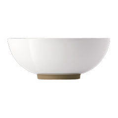 Olio by Barber Osgerby White Serving Bowl 25.5cm
